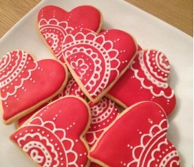 Biscuits d'amour…