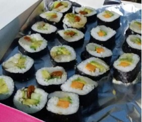 makis sushis !!! un régal