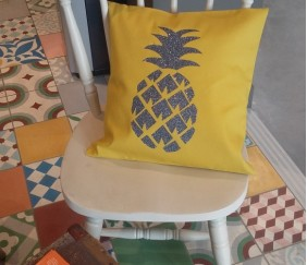 coussin ananas