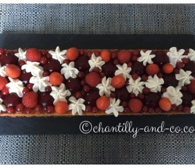 tarte fruits rouges comme un fantastik