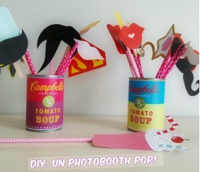 DIY: un photobooth pop et estival!