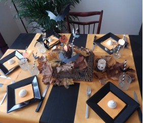 Ma table d'Halloween
