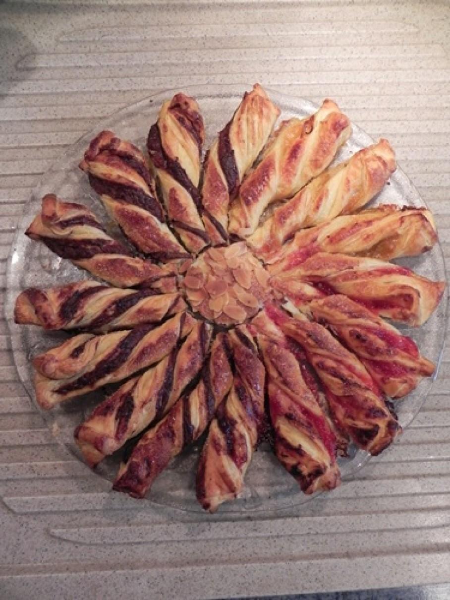 Tarte du soleil sal e pour l 39 ap ritif blog z dio - Soleil feuillete pour l aperitif ...