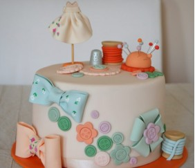 La couture en version cake design!