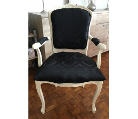 Relooking d une chaise ancienne