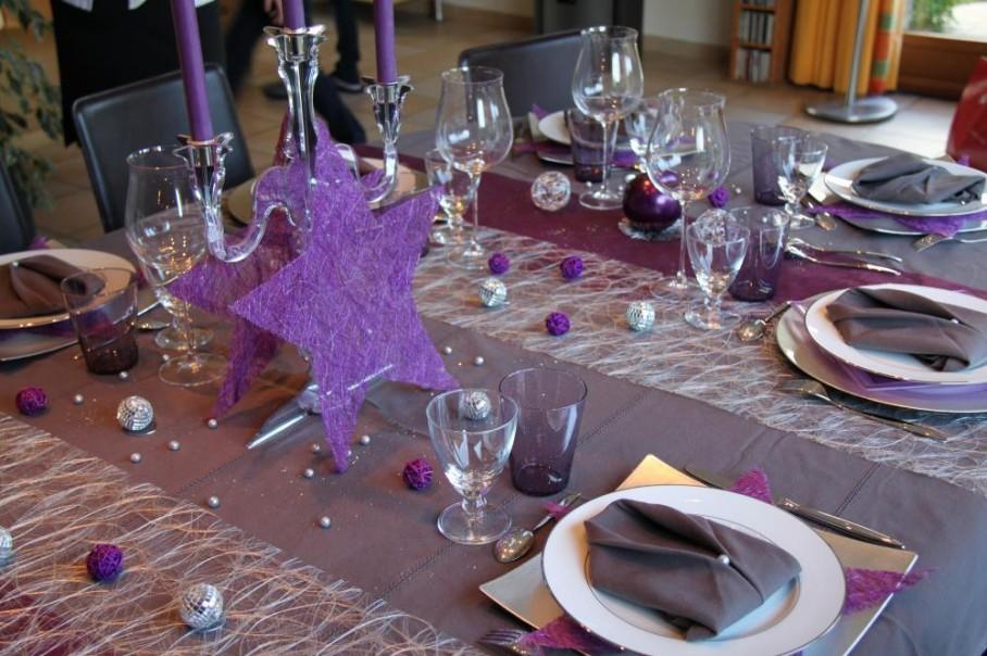 Quelques id es pour la table du nouvel an blog z dio for Table nouvel an