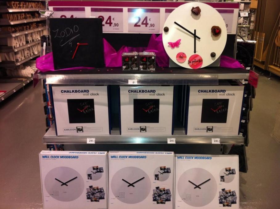 Horloge magn tique ou ardoise blog z dio for Horloge zodio