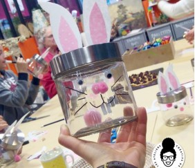 DIY PÂQUES – on réalise un adorable pot de lapin