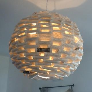 suspension boule japonaise dim 60 cm blog z dio. Black Bedroom Furniture Sets. Home Design Ideas
