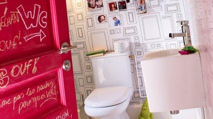 comment customiser ses toilettes blog z dio. Black Bedroom Furniture Sets. Home Design Ideas