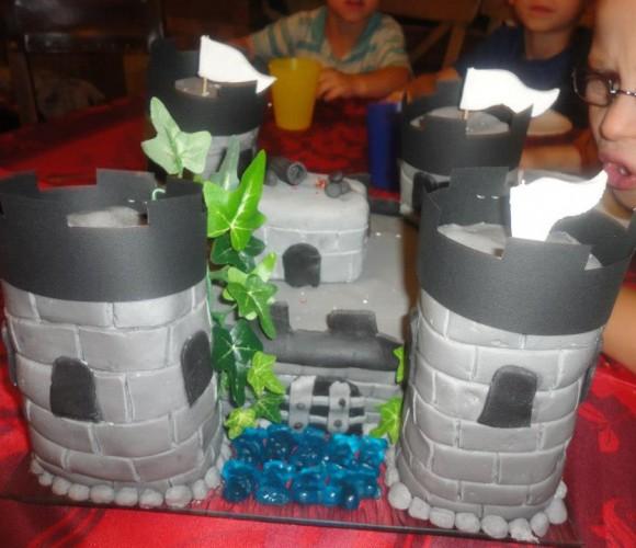 Mon gâteau château fort