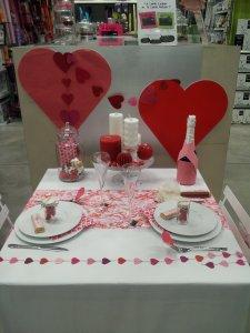 Ma déco Zôdio pour ma  table de Saint valentin