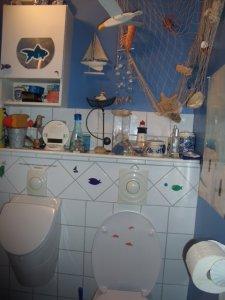 Les toilettes poissons de Michèle !