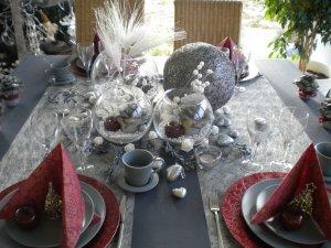 Du bordeau, du gris et de l'argenté pour vous souhaiter une Bonne Année!!