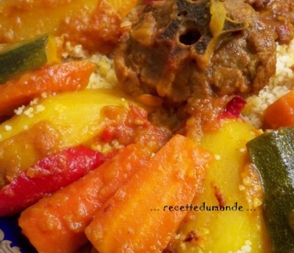 Couscous Marocain traditionnelle !
