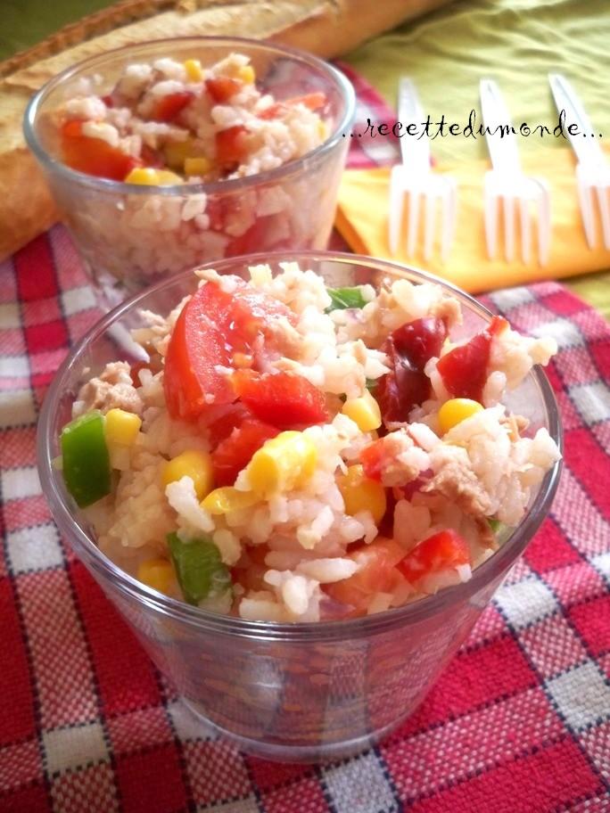 Recette salade composée très rapide ! (Blog Zôdio)
