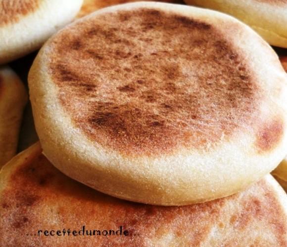 Batbout – pain Marocain à la poêle