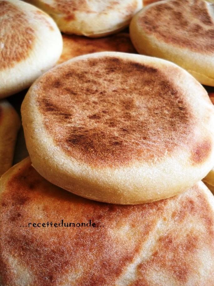 Batbout - pain Marocain à la poêle