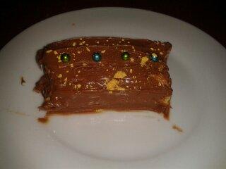buche façon cheesecake