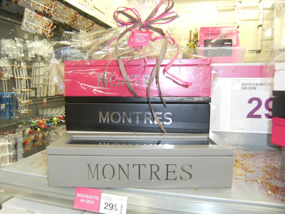 Idee Cadeau Une Boite Pour Les Montres Blog Zodio