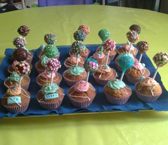 pops cakes et cups cakes