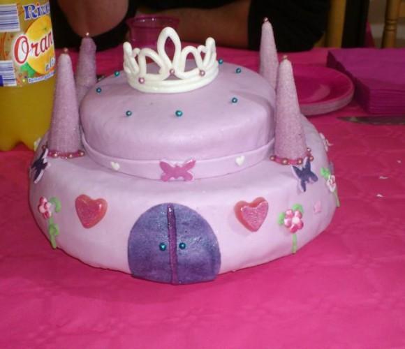 Idée gâteau château fort !