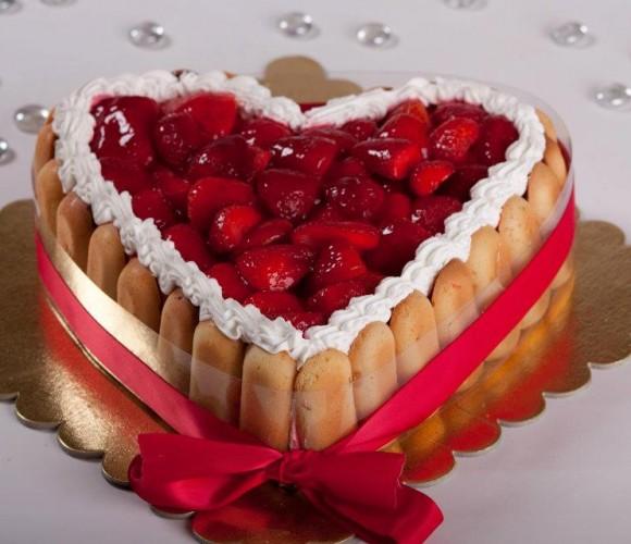 Charlotte aux fraises !