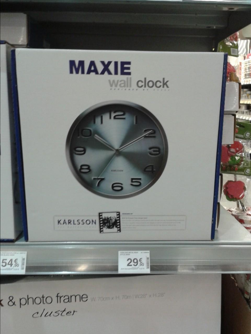 J 39 ai choisi pour un couple d 39 amis l 39 horloge maxie de la for Horloge zodio