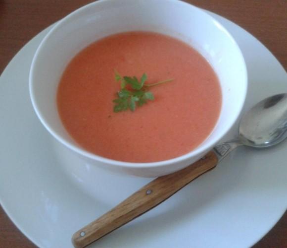 A la soupe ! Hoy, comemos GAZPACHO !