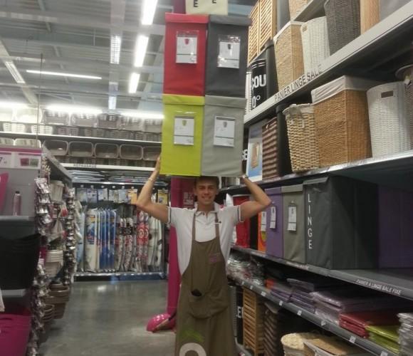 J'ai choisi pour la rentrée les paniers linge sale Equip Store !