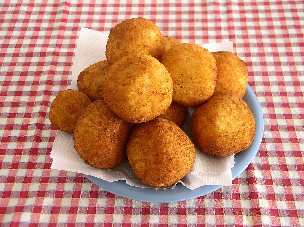 Les Arancinis (spécialités culinaires de Sicile)