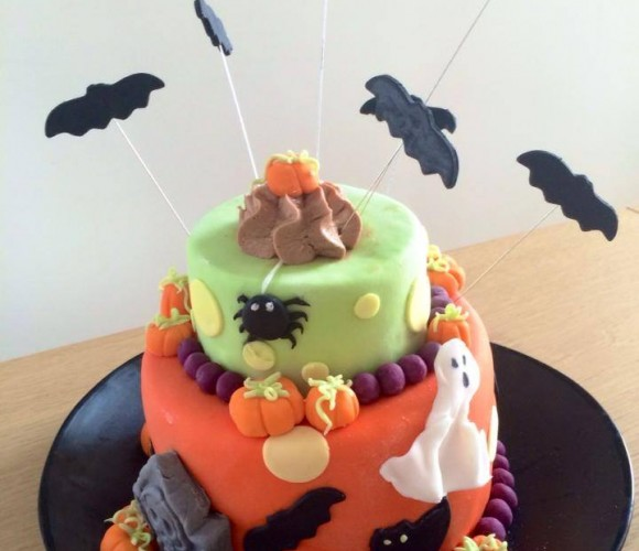 Gâteau Surprise Halloween