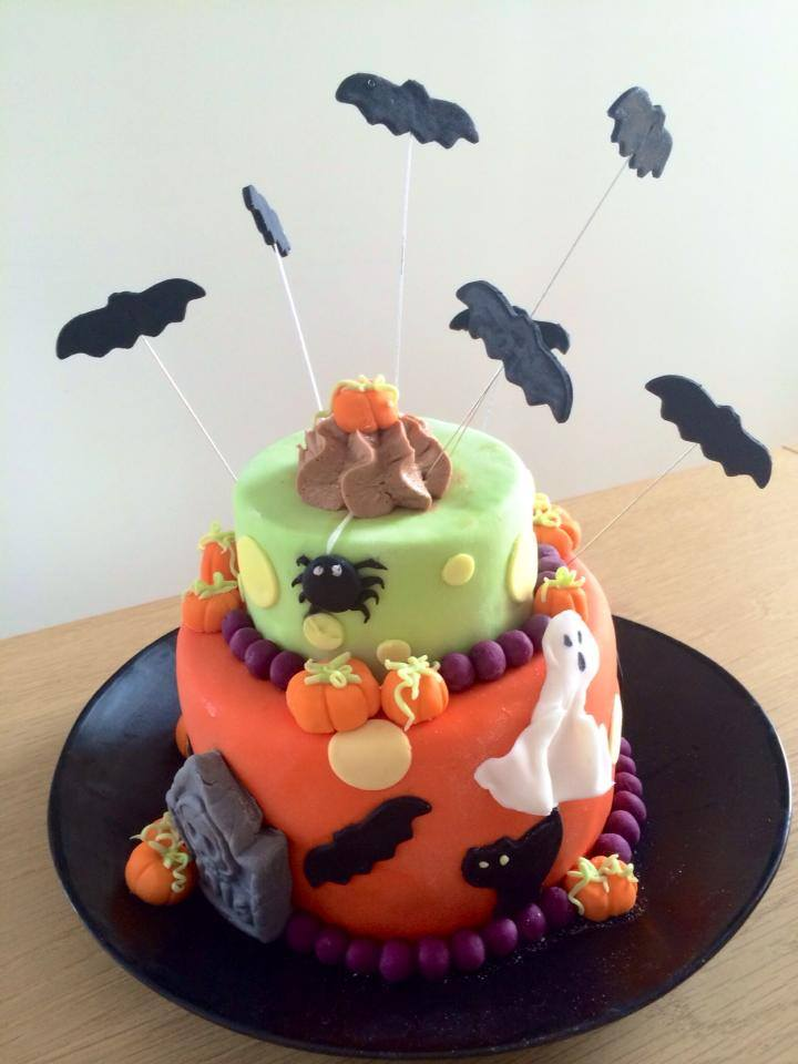 G teau surprise halloween blog z dio - Tuto deco halloween ...