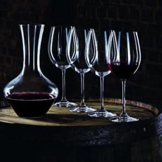 Pour la fête des pères, j'ai choisi pour Papa, l'ensemble carafe et 4 verres en cristal