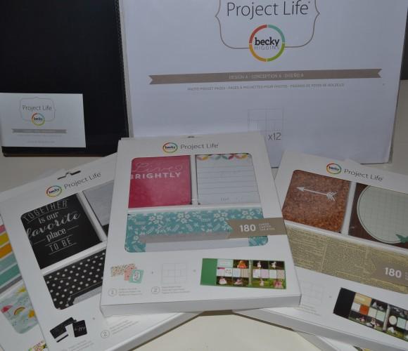 Envie de réaliser votre «project life» ? Tout le nécessaire mis au point par Becky Higgins est arrivé chez Zôdio Chambourcy !