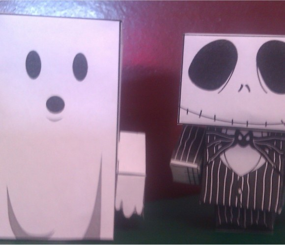 Activité pour Halloween : les «paper toy»