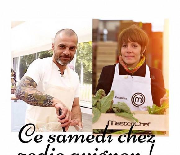 Journée des chefs le samedi 18 octobre à la Maison Rose d'Avignon!!!