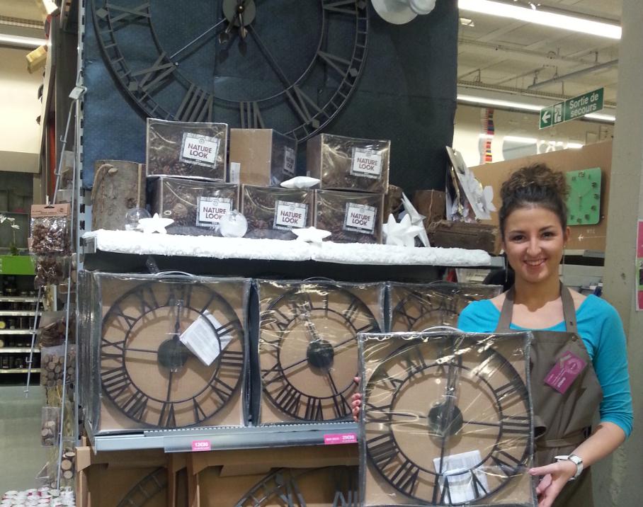 J 39 ai choisi pour ma marraine une horloge pour lui offrir for Horloge zodio