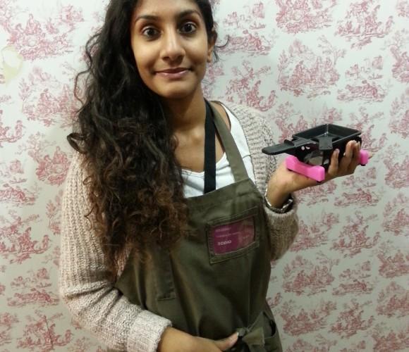 J'ai choisi pour ma soeur étudiante, la » miniclette » !