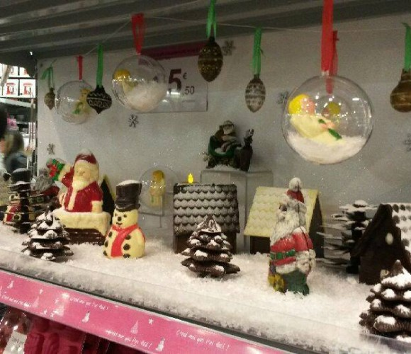 Le Village de Noël en chocolat