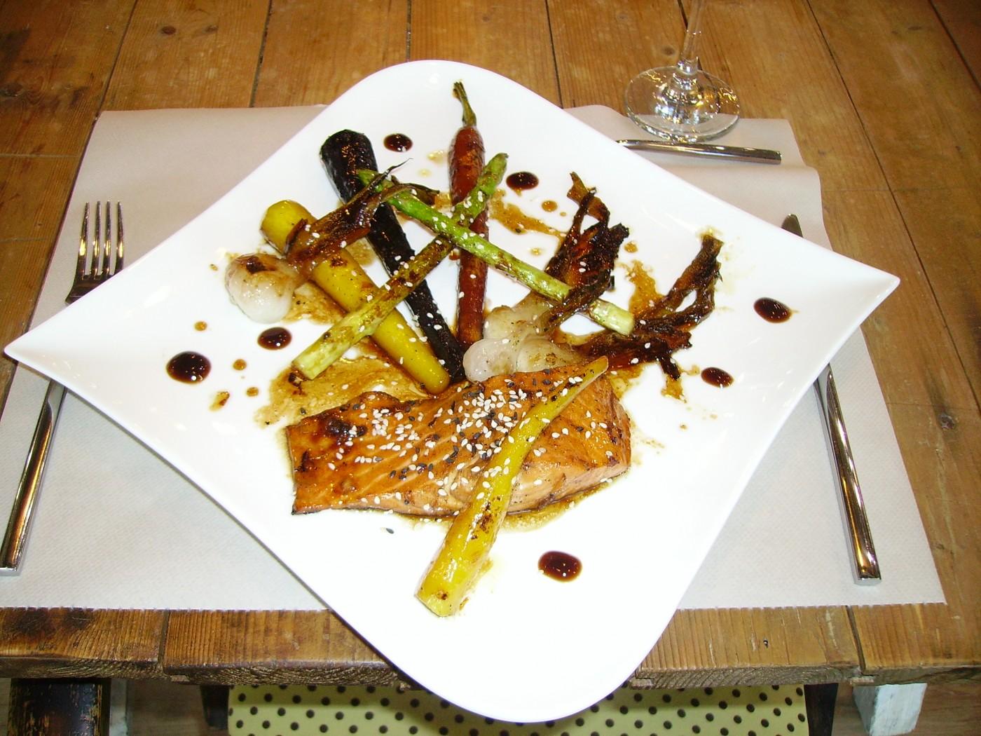 Les midi express chez philippe angers blog z dio for Atelier de cuisine philippe lechat