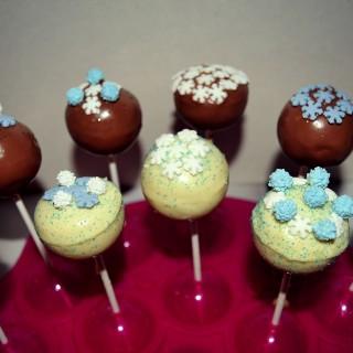 """Cake Pops """"Reine des Neiges"""""""