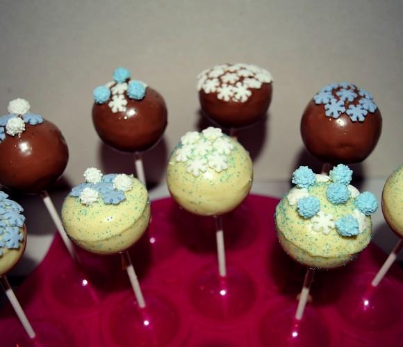 Cake Pops «Reine des Neiges»