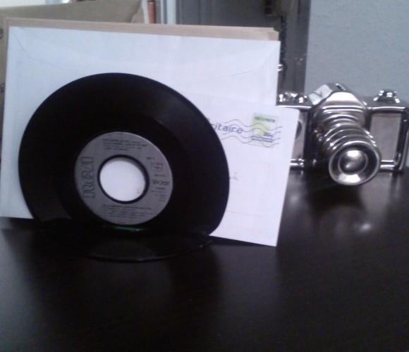 Porte courrier en vinyles
