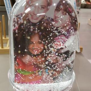 J'ai choisi un Snow Globe pour Noël!
