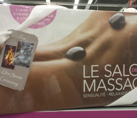 J'ai choisi pour MON cadeau de Noël le coffret  «salon de massage»