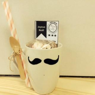 Petite idée cadeau diy originale : Le kit chocolat chaud personnalisé