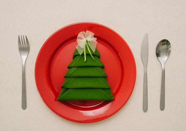 Pliage De Serviettes En Papier Pour Noel. Envie Duun Pliage De ...