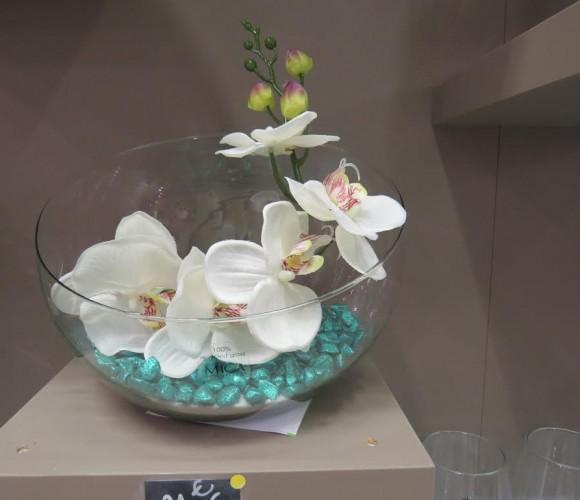 Idée cadeau pour noel, une composition florale !!!