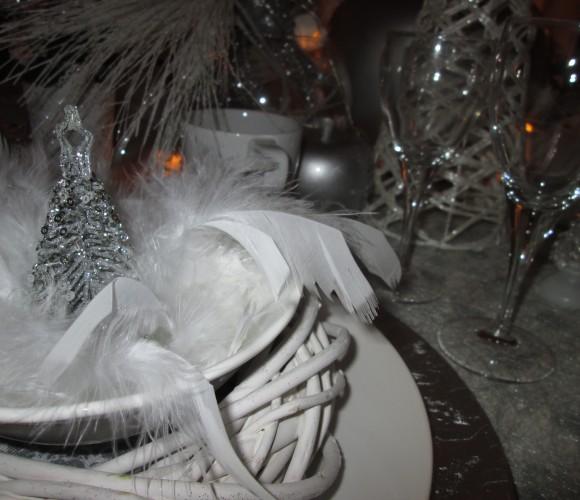 Un Noël blanc et scintillant!!